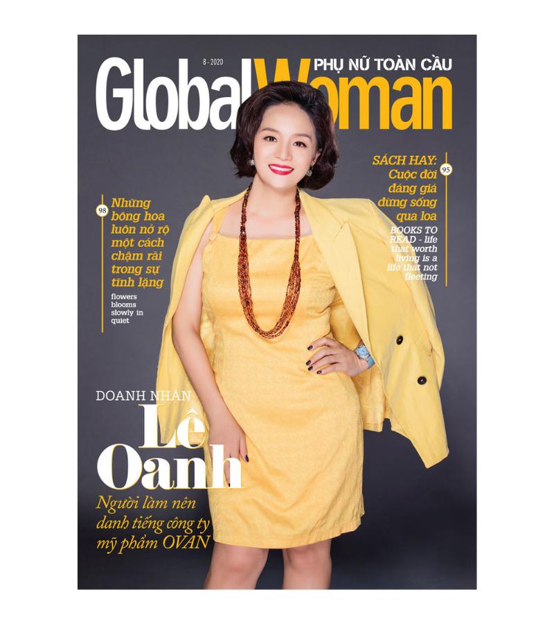 Nữ doanh nhân Lê Oanh – người làm nên danh tiếng OVAN